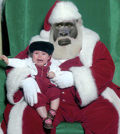 Santa Christmas Tree Topper