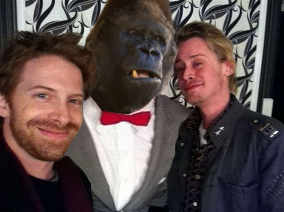 Seth, a gorilla and that Home Alone guy