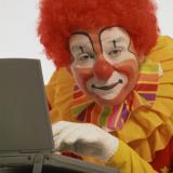 My clown selfie